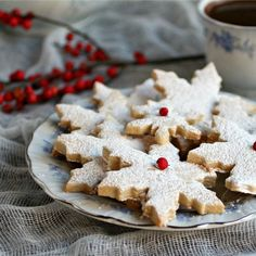 almond short bread cookies