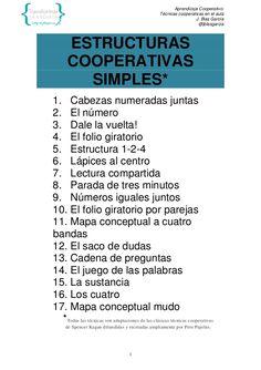 TECNICAS COOPERATIVAS EN EL AULA