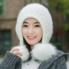 3ab07bf0 49 Best womens winter hats with ear flaps knit hats images in 2018 ...