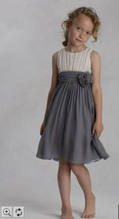 Flower girl - simple but sophisticated, perfect for the lake