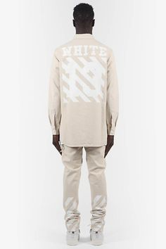 Virgil Abloh Off-White Spring/Summer 2014 Collection Off White Fashion, Fashion Line, New Fashion, Male Fashion, Off White Virgil Abloh, Urban Gear, Off White Mens, White Springs, All White Outfit