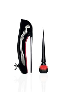 Nails To Match The Soles of Your Louboutins