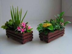 Кашпо для цветов из досок фото