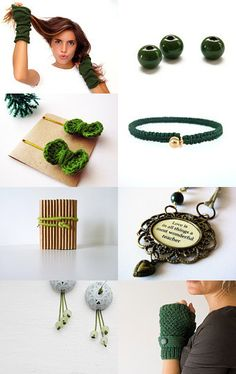 --Pinned with TreasuryPin.com Green Gifts, Bracelet Watch, Greek, Artists, Handmade, Etsy, Accessories, Hand Made, Greek Language