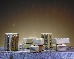 These are rustic Lego style cement magnetic paperweights. I have rubbed them with a dark wax to give them a more earthy look. There are 10 pictured. This listing is for a pair of TWO paperweights. Cement, Concrete, Custom Jewelry, Unique Jewelry, 10 Picture, Dark Wax, Paper Weights, Earthy, Magnets