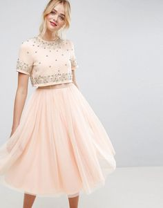 Discover women's fashion online with ASOS. Spring Dresses Casual, Trendy Dresses, Elegant Dresses, Cute Dresses, Short Dresses, Girls Dresses, Winter Dress Outfits, Casual Dress Outfits, Pink Midi Dress