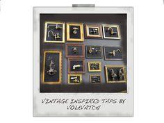 Vintage inspired taps by Volevatch