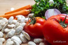 Φασόλια γίγαντες κι ένα μικρό μυστικό ⋆ Cook Eat Up! Macrame