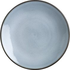 Nuit Dinner Plate in Dinnerware Sets | Crate and Barrel - Need to get more of these dinner plates so I'm pinning (LOVE this set - it's lasted 6 years so far!)