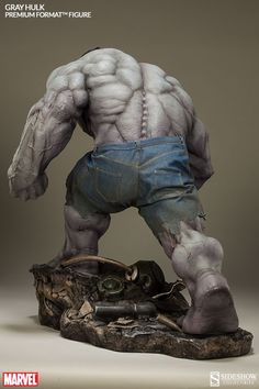 Gray Hulk Premium Format Figure by Sideshow Collectibles