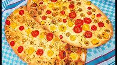 Herbed Flatbread   نان زیتون باسیر Pizza, Youtube, Food, Essen, Meals, Youtubers, Yemek, Youtube Movies, Eten