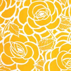 Hooray! I finally found the perfect yellow and white fabric for the kitchen :D Now on to the next project ...