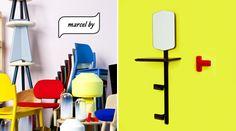 Retrouvez les Patères Marcel By sur monsieurmarcel.fr