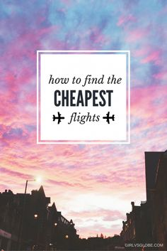 Want to know how to find the cheapest flights? This guide is full of the best travel hacks and tricks that will help you find the most affordable airfare. If you want to explore the world, read this and learn how to save on travel...