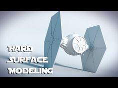Star Wars Tie Fighter : Blender Tutorial : 01 : Hard Surface Modeling - YouTube