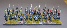 15mm Napleonic French Light Infantry. Painted by Tajima1 Miniatures  - For sale at our website
