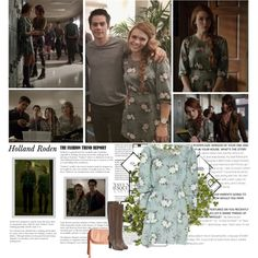 Holland Roden as Lydia Martin. { Teen Wolf - 5.05 A Novel Approach } by albacampbell on Polyvore featuring polyvore, fashion, style and Episode