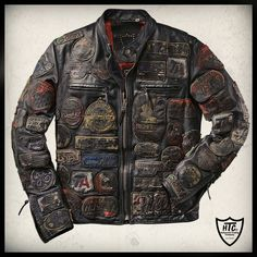 "H.T.C LA* ""Legend"" Leather Jacket"