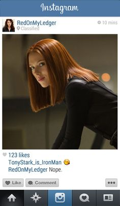 Black Widow | 13 Instagrams From The Marvel Universe