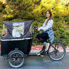 Rain or Shine, our Ferla Cargo Bikes are out on the streets. We love to see our Ferla Families enjoying the rides. 👩👦👦  Thank you @lindsgreener for this great image 📸 It truly is a great experience to cycle together as a family. We're happy you're happy with your choice.  To learn more about our Cargo Bikes, visit our webpage for more details.  #cargobike #cargobikes #cargobikelove #cargobikelife #cargobikecamp #familybike #bikesforkids Royce, Fall Protection Harness, Electric Cargo Bike, E Bike Battery, Color Dust, Bike Run, Roll Cage, Side Door, Bike Accessories