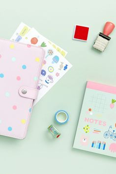 Spread the planner love with these super cute stationery pieces and accessories. Kikki K Planner, Cute Planner, Planner Tips, Planner Supplies, Kawaii Stationery, Stationery Paper, Stationery Design, Kids Stationery, Cute Stationary