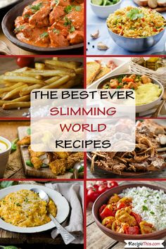 The Best Ever Slimming World Recipes Easy Healthy Breakfast, Healthy Eating, Healthy Food, Slimming World Recipes, Healthy Chicken Recipes, Delicious Recipes, Tasty, Chicken And Vegetables, Air Fryer Recipes
