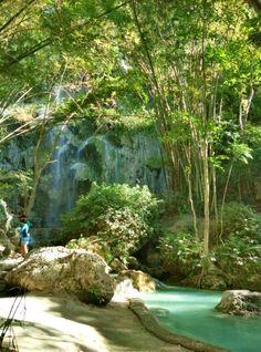 Tumalog Falls, Oslob Cebu Philippines