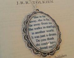 kili and tauriel | The Hobbit Kili and Tauriel Stars Q uote Necklace ...