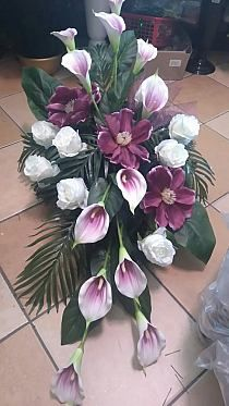Grave Flowers, Altar Flowers, Cemetery Flowers, Church Flowers, Funeral Flowers, Silk Flowers, Funeral Floral Arrangements, Church Flower Arrangements, Beautiful Flower Arrangements