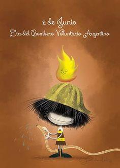 2 de junio : Día del Bombero Voluntario Argentino