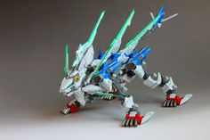 Liger 00 (Double Zero) Custom Build - Gundam Kits Collection News and Reviews