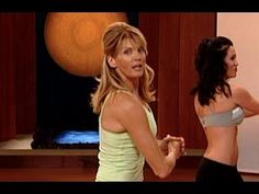 """Standing Abs Workout with Kathy Smith is designed to burn fat and define the abs with fun dance moves and standing, functional ab exercises that will strengthen the core, tone the obliques and flatten the belly. Six pack abs are right around the corner!    This workout is from Kathy Smith's DVD """"Tummy Trimmers"""".    For full selection of great workou..."""