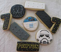 The Star Wars Lego Party Cookies: Let the gluttony ensue - Gizmodiva