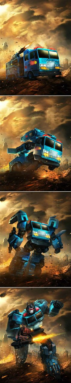 This series of Transformer Legends artwork from manbu1977 is nothing short of EPIC.