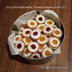 Romanian Food, Lemon Bars, Pastry Cake, Cake Cookies, Biscotti, Cookie Recipes, Caramel, Bakery, Food And Drink