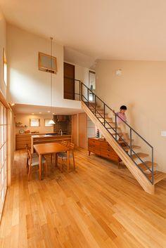 魅力的な1階勾配天井の住まい | 新築事例集 |注文住宅を湘南・横浜・厚木など神奈川でお考えなら優建築工房へ