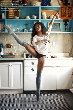 perfectiontales: rachardwolf: Session with Nardia of The Washington Ballet. Dancer: Nardia Boodoo