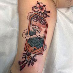 Small Japanese Tattoo, Japanese Wave Tattoos, Japanese Tattoo Women, Japanese Waves, Traditional Japanese Tattoos, Japanese Tattoo Designs, Japanese Sleeve Tattoos, Small Traditional Tattoo, Back Tattoos