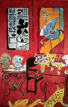 Henri Matisse, Grand Interieur Rouge, 1948, Centre Pompidou, Paris