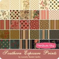 Southern Exposure Prints Yardage <br/>Laundry Basket Quilts for Moda Fabrics