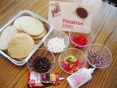 Club Penguin Pizzastron 3000 activity.  The delicious and fun cookie making activity would be perfect for your Club Penguin birthday party.  We did this at my daughter's party and everyone loved it.