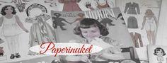 Ylläpidän Facebookissa Paperinuket-ryhmää, johon kuuluu keräilijöitä ja paperinukeista kiinnostuneita harrastajia Suomesta ja maailmalta.
