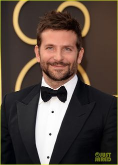 Bradley Cooper at the 2014 Academy Awards held at the Dolby Theatre on Sunday (March 2) in Hollywood. Bradley is wearing a Chopard watch.