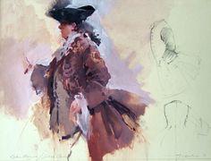 Aristocratic Gentleman- Rakes Progress. John Macfarlane Gallery, Drawings, Gentleman, Painting, Art, Theater, Art Background, Roof Rack, Painting Art