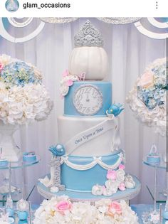 Trendy Cake Designs For Teens For Kids Ideas Cinderella Baby Shower, Cinderella Sweet 16, Cinderella Theme, Cinderella Birthday, Cinderella Wedding, Princess Birthday, Cinderella Cakes, Cinderella Quinceanera Themes, Quinceanera Planning
