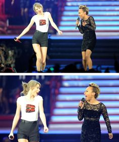 Taylor performed Next to Me with Emilie Sande tonight at the O2! 2•10•15 RED London