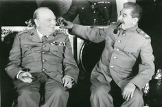 "Winston Churchill decided to smoke a cigar, and Joseph Stalin - the handset. But none of the matches, nor the other was not. Then the ""leader of all nations"" asked the officer his twinkle protection and gave the UK premiere of the same-light. During the talks in the Grand Kremlin Palace. October 1944. Photo: Archive of the Russian Federation Federal Security Service"