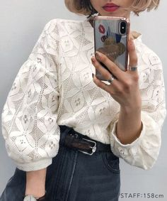 Discover recipes, home ideas, style inspiration and other ideas to try. Look Fashion, Hijab Fashion, Korean Fashion, Fashion Dresses, Womens Fashion, Fashion Design, Blouse Styles, Blouse Designs, Sleeves Designs For Dresses