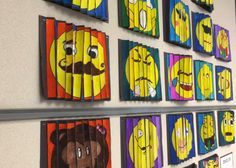 Make your own emoji agamographs. Use for character feelings/traits and how they change in a story.
