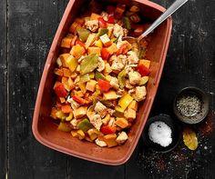 Ragoût de poulet | Betty Bossi Pasta Salad, Potato Salad, Food And Drink, Potatoes, Baking, Vegetables, Health, Ethnic Recipes, Brick
